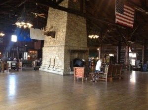 Starved Rock lodge main room